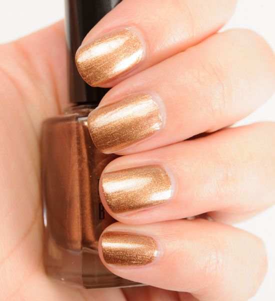 Golden (or Absolute) Autumn Nail Polish - Expressing Your Truth