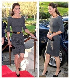The-Art-of-Accessorizing-from-HelenHou.com-Kate-Middleton-wore-Grey-Amanda-Wakeley-Sculpted-Dress