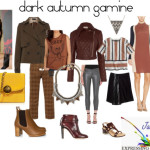 dark autumn gamine EYT