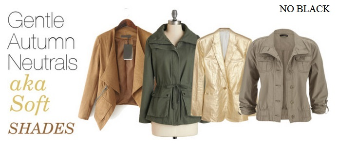 gental autumn neutrals jackets
