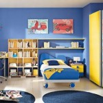 kid bedroom blue