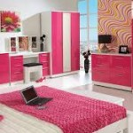 kid bedroom pink