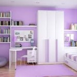kids bedroom lavender