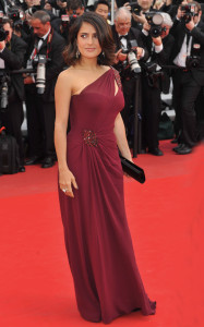 Salma Hayek 2010 Cannes International Film Festival - Day 1 - 'Robin Hood' premiere - red carpet arrivals Cannes, France - 12.05.10 **Not available for publication in France, Germany, Austria and Switzerland. Available for publication in the rest of the world** Credit: WENN.com