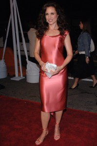Actress ANDIE MacDOWELL at the world premiere of her new movie Beauty Shop. March 24, 2005 Los Angeles, CA. © 2005 Paul Smith / Featureflash*** USA ONLY ***