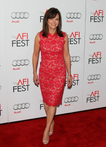 "HOLLYWOOD, CA - NOVEMBER 08: Sally Field attends the 2012 AFI FEST ""Lincoln"" Closing Night Gala premiere at Grauman's Chinese Theatre on November 8, 2012 in Hollywood, California. (Photo by JB Lacroix/WireImage)"