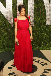Salma Hayek 2012 Vanity Fair Oscar Party at Sunset Tower Hotel - Arrivals West Hollywood, California - 26.02.12 Credit: Ian Wilson/WENN.com