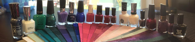 nail polish with my fan