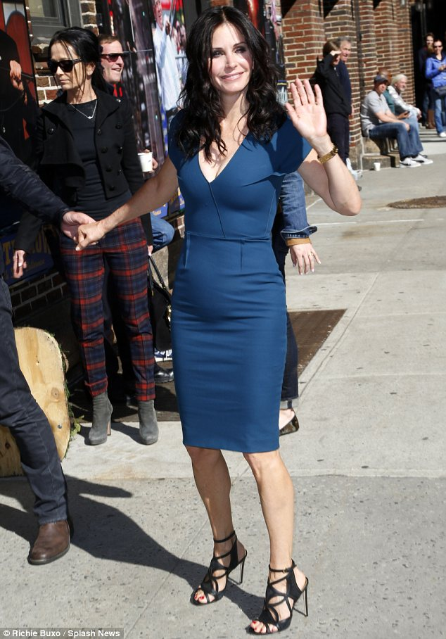 bright winter courteney cox in blue
