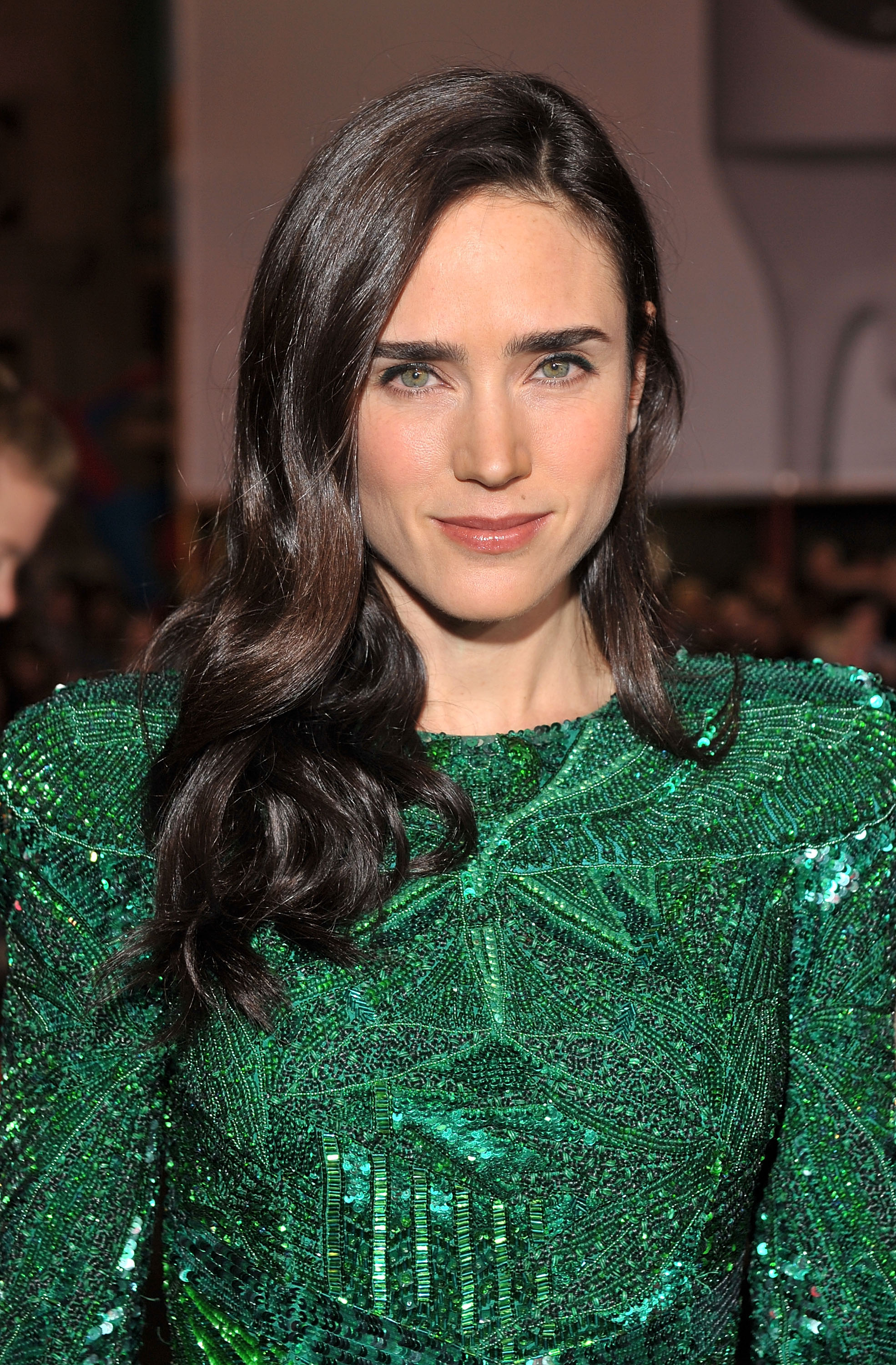 "Actress Jennifer Connelly arrives on the red carpet at the Warner Bros. Los Angeles Premiere of ""He's Just Not That Into You"" held at the Grauman's Chinese Theatre on February 2, 2009 in Los Angeles, California. ""He's Just Not That Into You"" Los Angeles Premiere - Red Carpet Grauman's Chinese Theatre Los Angeles, CA United States February 2, 2009 Photo by Lester Cohen/WireImage.com To license this image (56631603), contact WireImage.com"