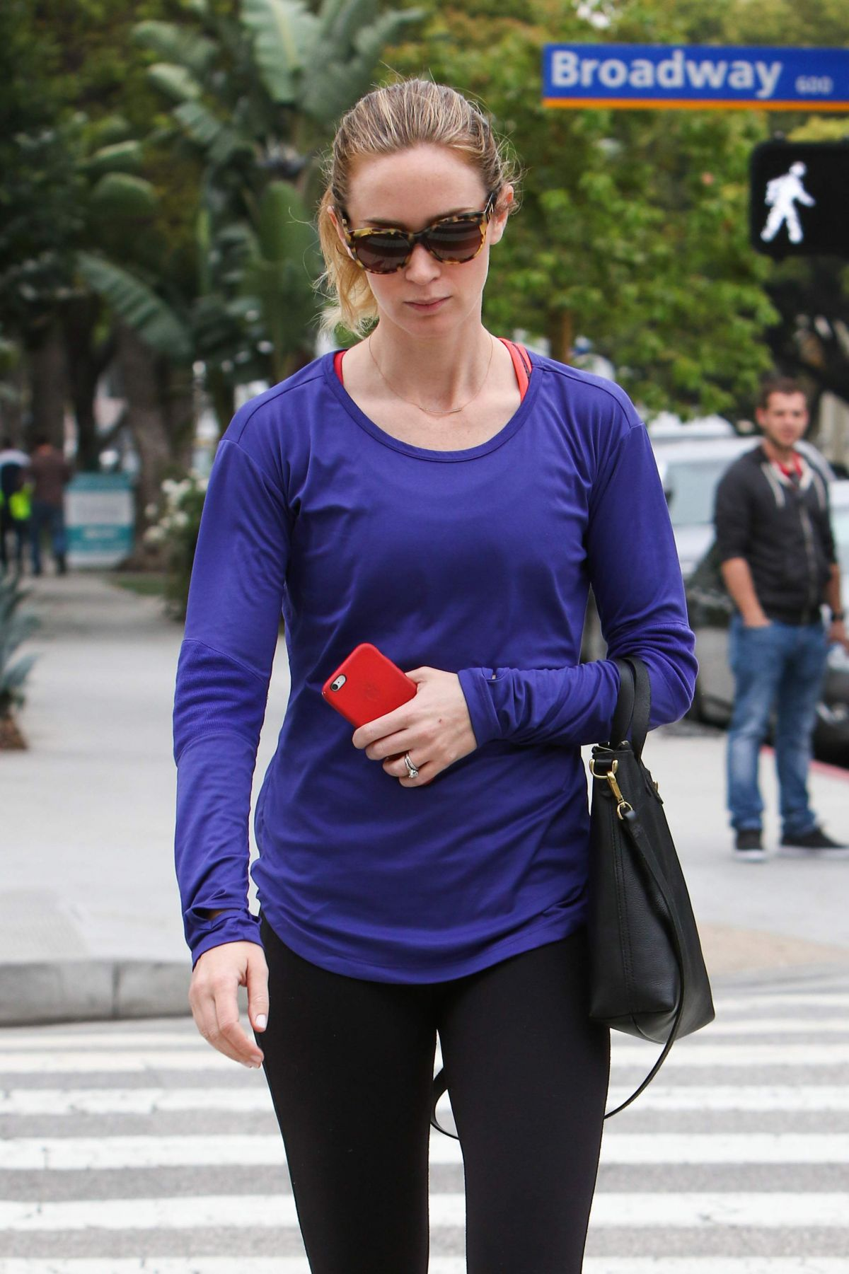 cool summer emily blunt purple