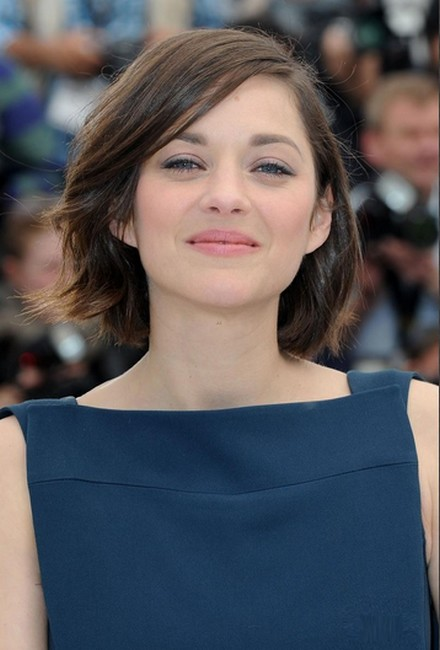 soft winter marion cotillard in blue