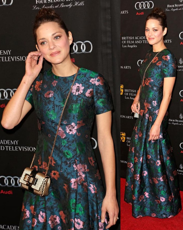 BAFTA Los Angeles 2013 Awards Season Tea Party held at the Four Seasons Hotel Los Angeles Featuring: Marion Cotillard Where: Beverly Hills, California, United States When: 12 Jan 2013 Credit: Brian To/WENN.com