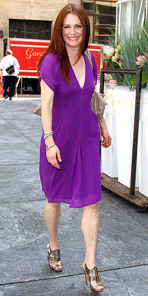 warm autumn julianne moore in purple