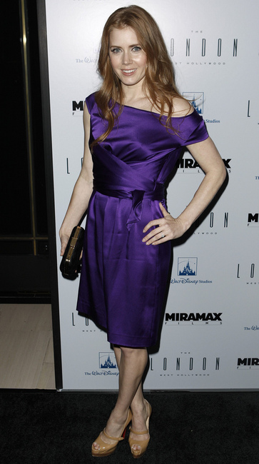 warm spring amy adams in purple
