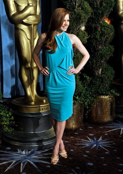 warm spring amy adams in turquoise